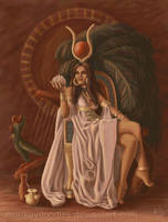 Hathor by monkeydoodles