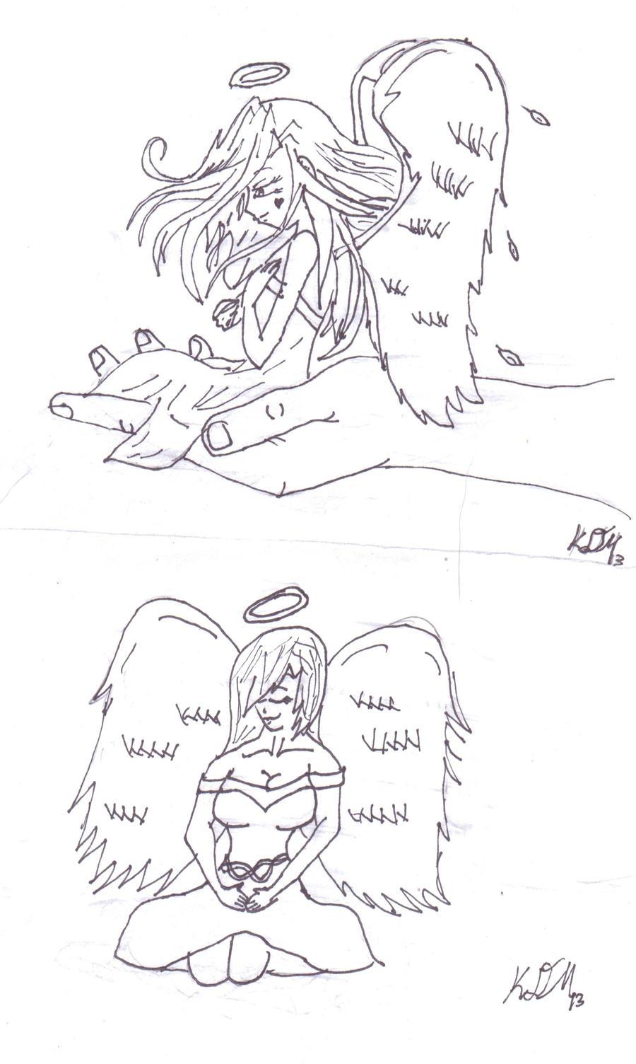 angel tattoo designs by crystleeart01 on deviantart. Black Bedroom Furniture Sets. Home Design Ideas