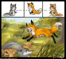 Prize for Fox by demonic-black-cat
