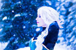 Elsa cosplay- Let it go