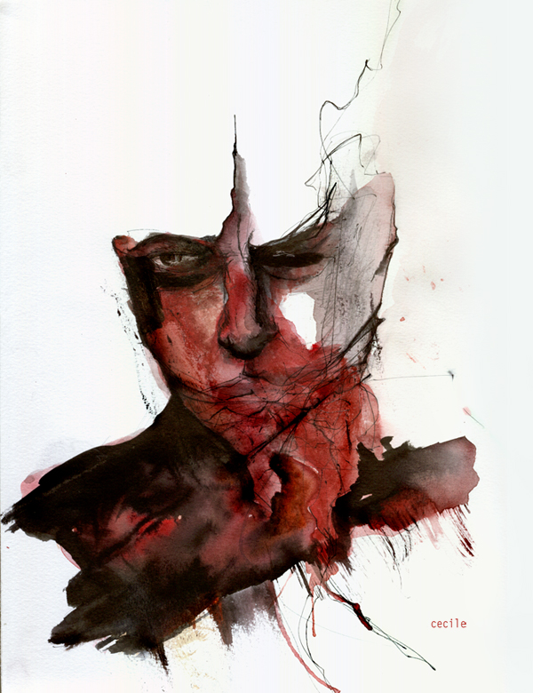 figura rossa by agnes-cecile