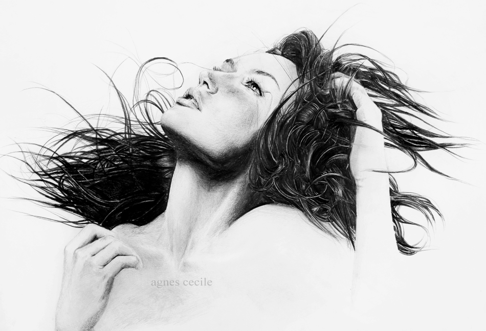 portrait wind by agnes-cecile on DeviantArt