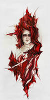 Blood in glass by agnes-cecile
