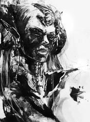 art trade: psion tiefling
