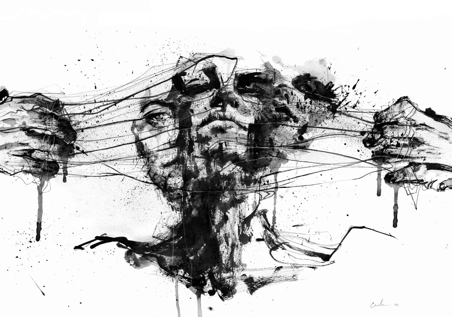 Line Drawing Of Yourself : Drawing restraint by agnes cecile on deviantart