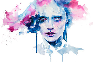 Garden in the ceiling by agnes-cecile