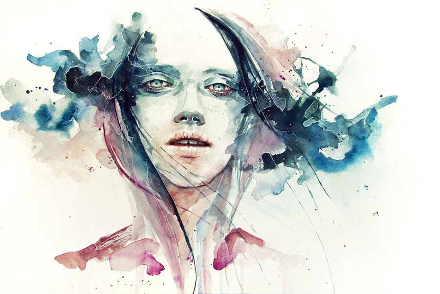 Favori Dessin et peinture - vidéo 624 : De l'aquarelle pour un visage  SW31