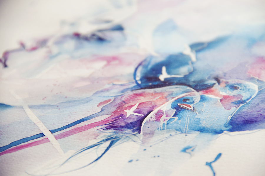 detail - loss, birds by agnes-cecile