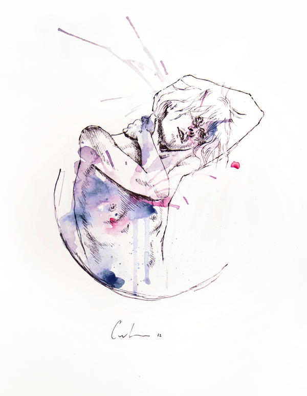 circles - con occhi porpora by agnes-cecile