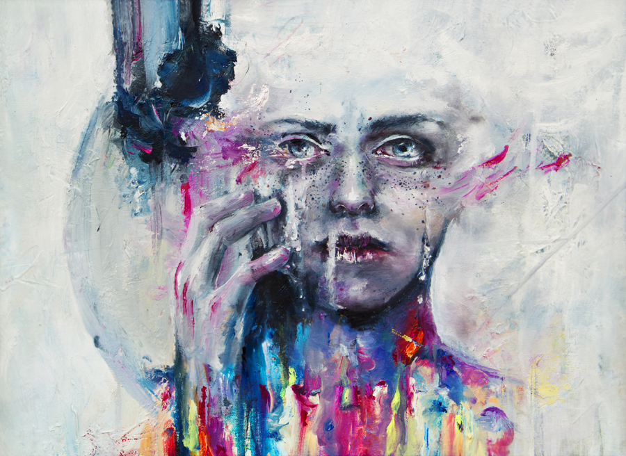 a hint of color by agnes-cecile