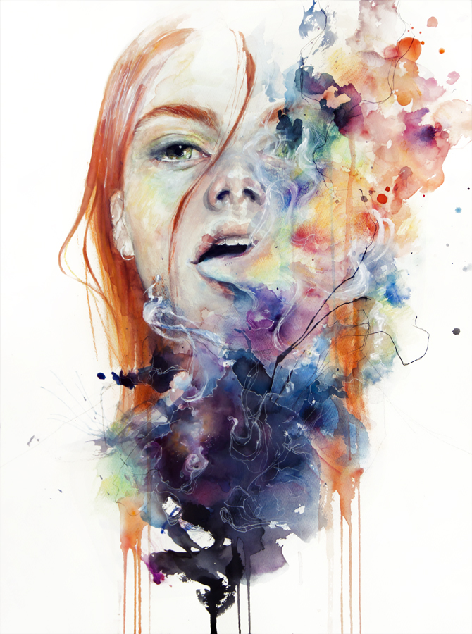 this thing called art is really dangerous by agnes cecile on deviantart