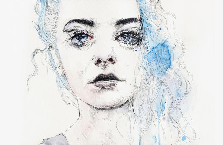 aquamarine freak by agnes-cecile