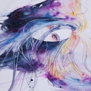 Big Bang in watercolor - new video
