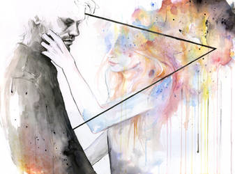 two different lights by agnes-cecile