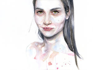 portrait practice on moleskine