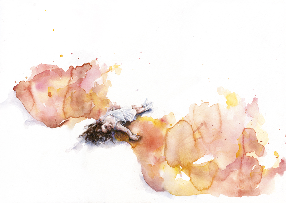 take off in flight by agnes-cecile