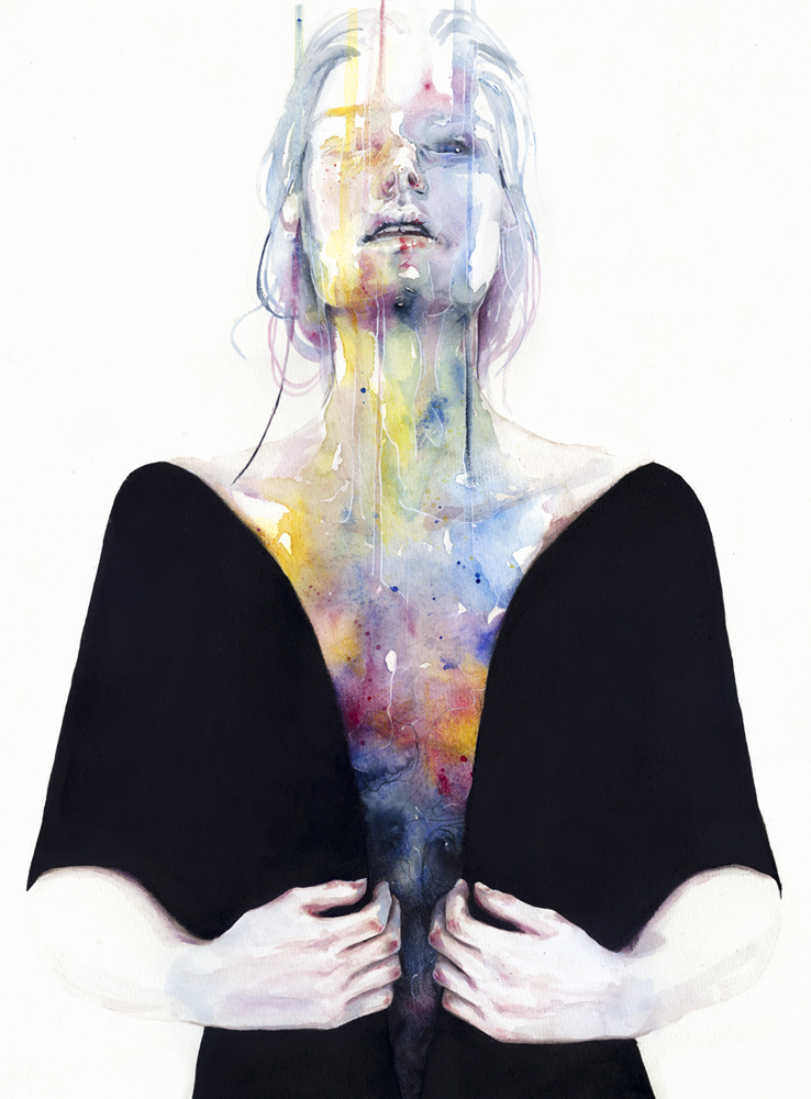 another one inside the shell by agnes cecile on deviantart. Black Bedroom Furniture Sets. Home Design Ideas