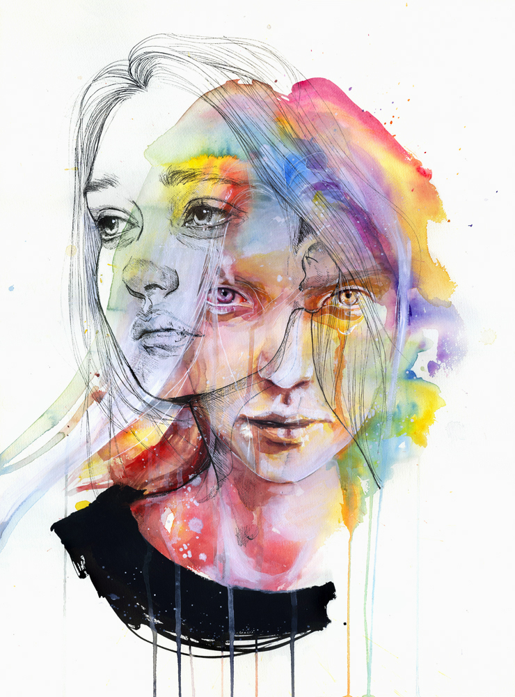 Girls change colors by agnes-cecile