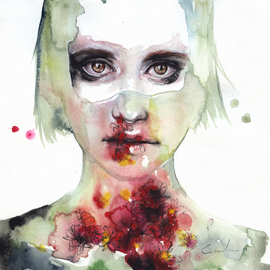 keeping inside this wild flowering by agnes-cecile