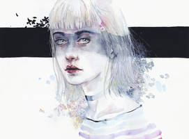 Blindfolded Goddess by agnes-cecile