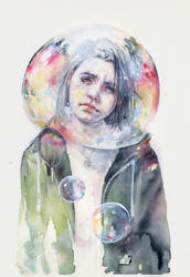goodmorning world by agnes-cecile