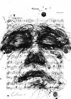 Waiting on Sheet Music by agnes-cecile