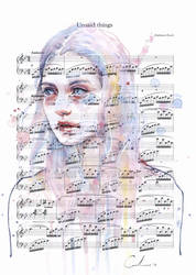 Unsaid Things on Sheet Music by agnes-cecile