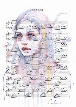 Unsaid Things on Sheet Music