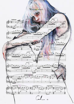Waiting Place on sheet music