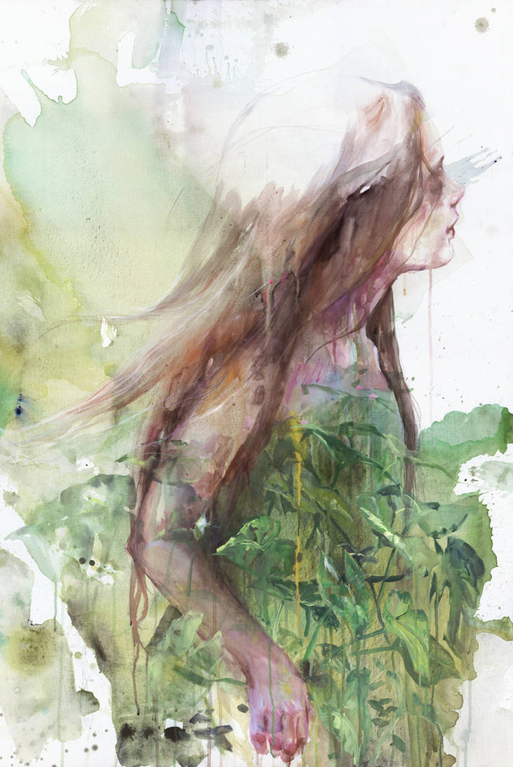 Growing Toward The Sun by agnes-cecile