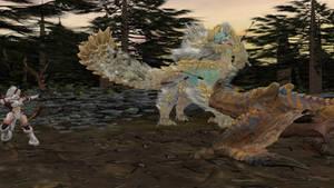 Monster Hunter Rider: Disturbance in the forest
