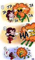The wild laughter: Cuphead comic by FANSHINE-ZERO