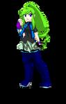Raiki Ritoga OC in Rockman exe by JunMakiTH5