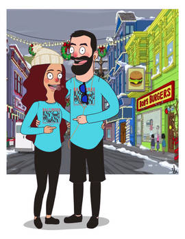 Bobs Burgers Couple
