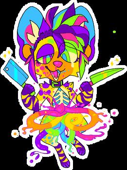 Party Favor MS Paint Candy Gore
