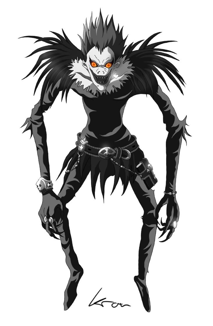 Ryuk-DeathNote by kronkoron on DeviantArt