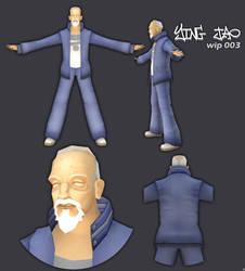 ying jao-game model-wip0003 by kurocrash