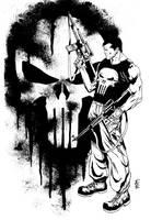 The Punisher by vittoriogarofoli83