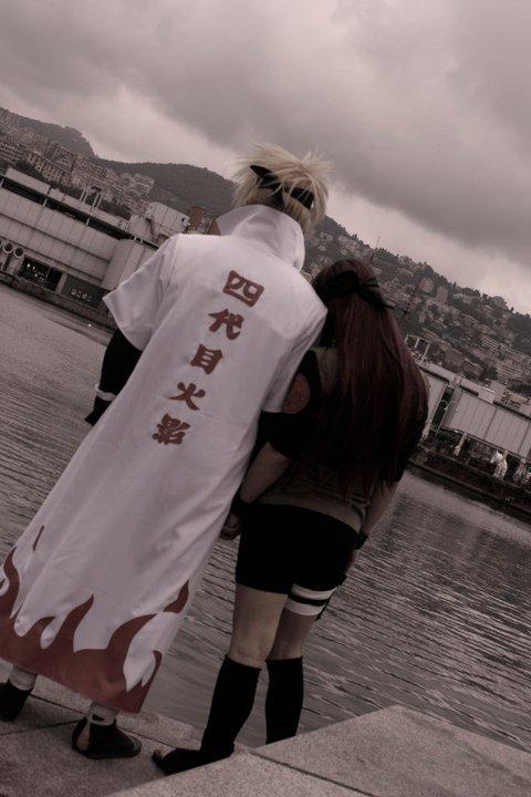 Minato and Kushina-Together by SenninUzumaki