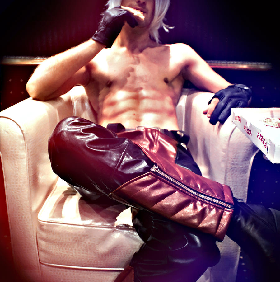 Dante Devil may cry 4-Yummi by SenninUzumaki