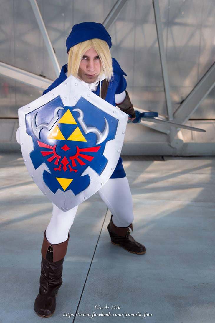 Blue Link Cosplay, Ocarina of Time by SenninUzumaki