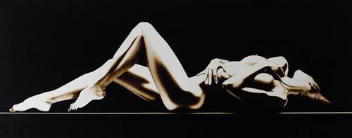 Coffee on canvas 008 by NeutrinoZ