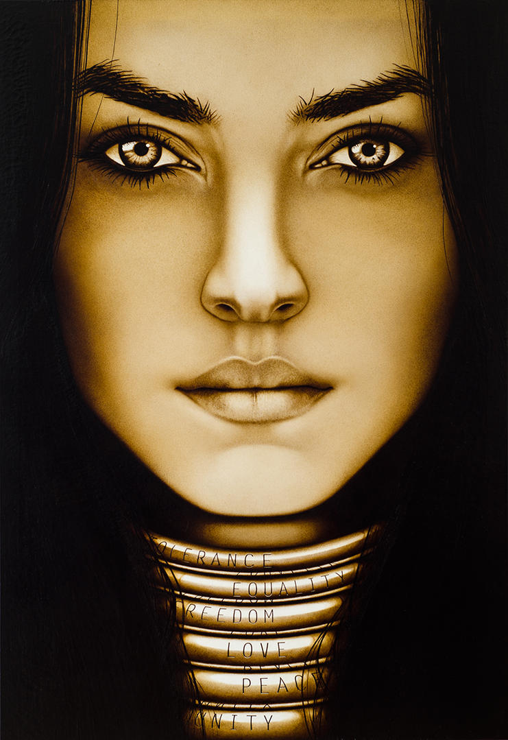 Coffee painting 14 by neutrinoz on deviantart for Painting with coffee