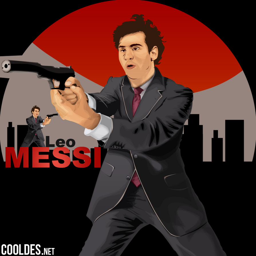LEO MESSI vector ART by CoolDes