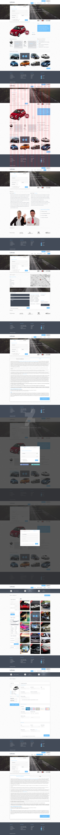 Carforest WebInterfaces For SALE by CoolDes