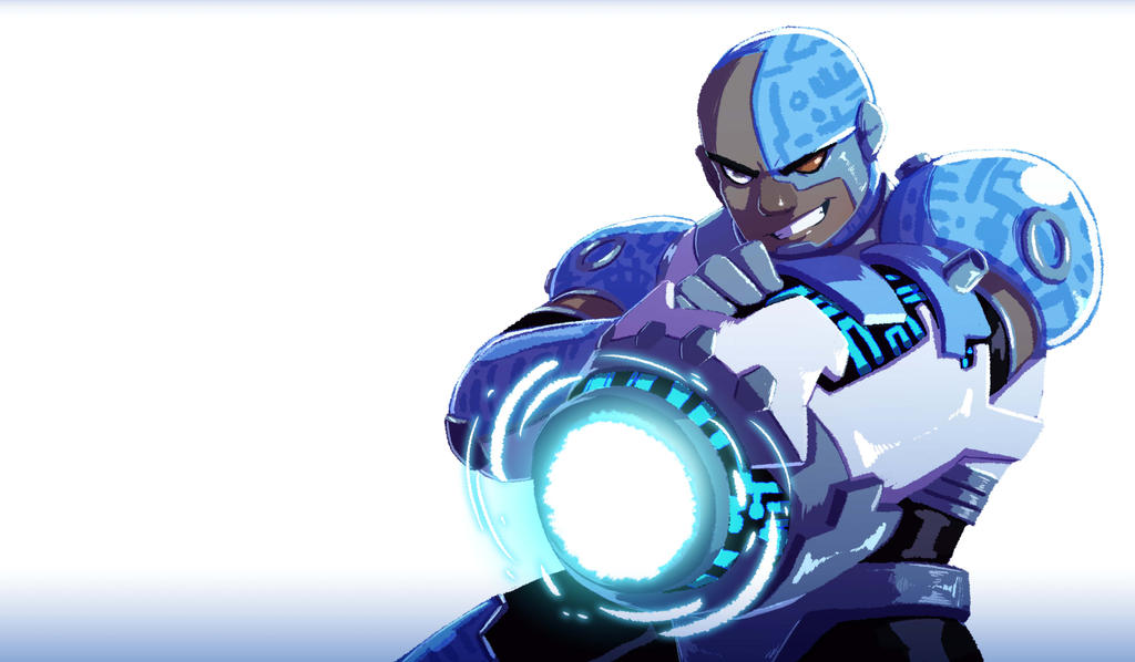 Cyborg (TeenTitans) by CharlotteSketches