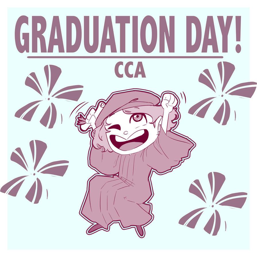 Graduation Day 2017 by CharlotteSketches