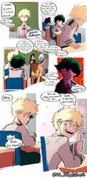 Nice Ka-Chan AU Page 12 by CharlotteSketches