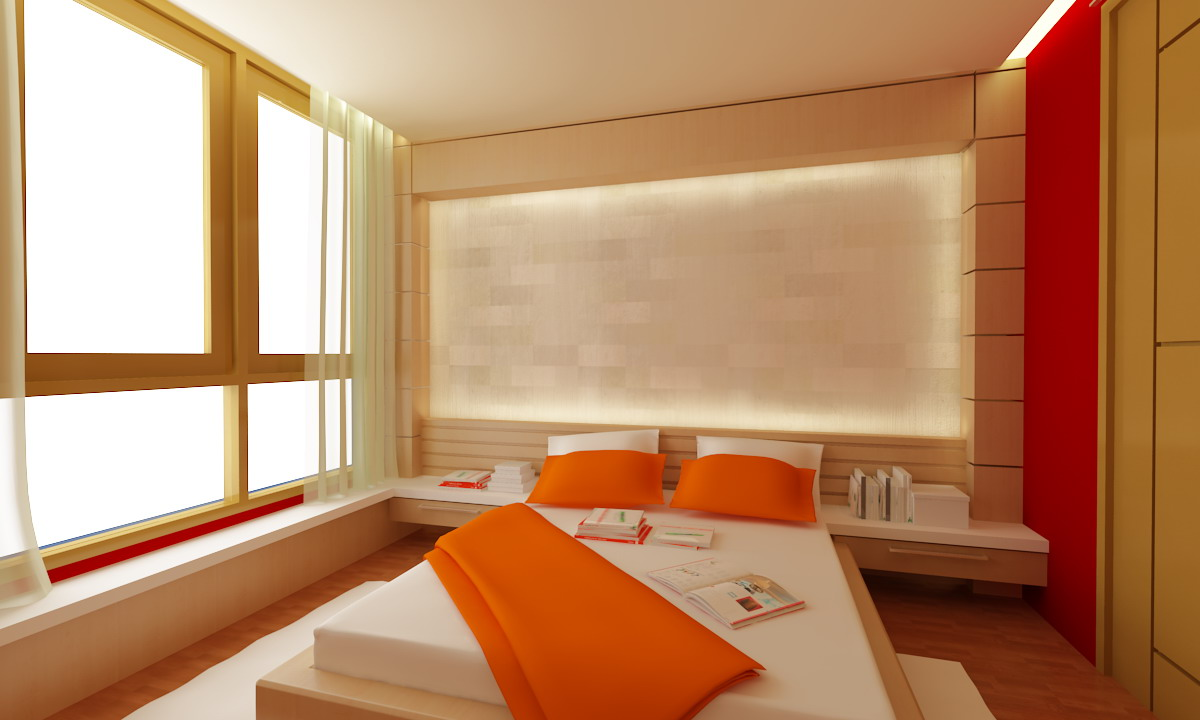 Simple bedroom by spidejep on deviantart - Image of simple bedroom ...