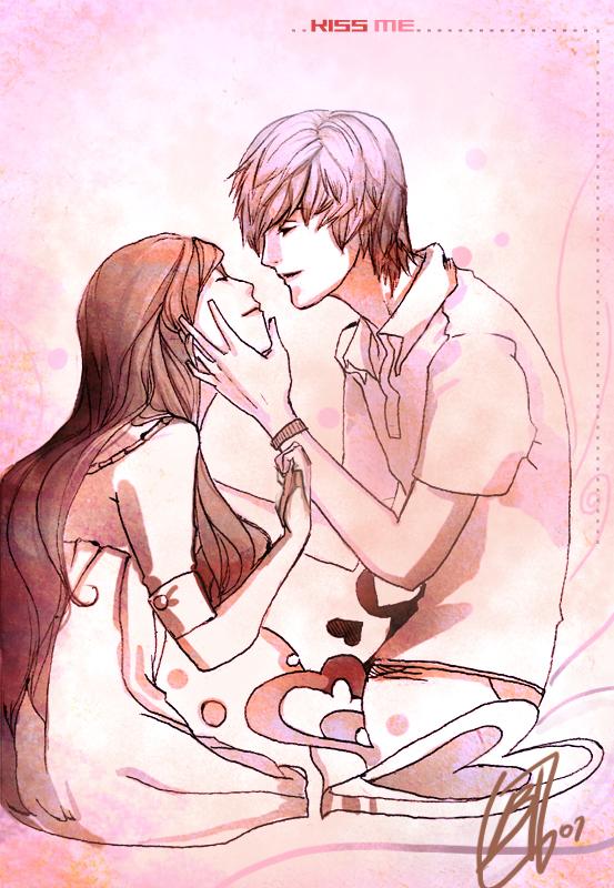 Kiss Me.... by borammy